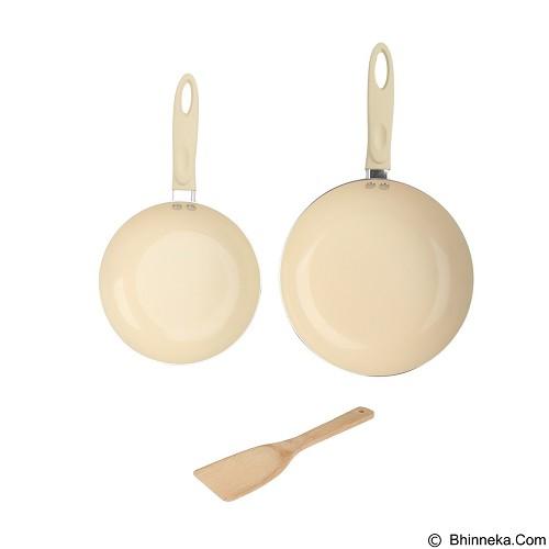 KANGAROO 3 Pcs Cookware Set [KG675] - Panci Set