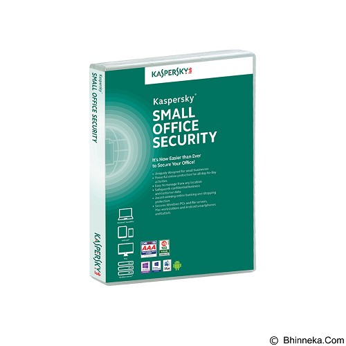KASPERSKY Small Office Security (10 Pc + 1 Server) - Client Software Total Security Fpp