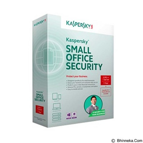 KASPERSKY Small Office Security 5 Device + 1 Server [KSOS5+1] (Merchant) - Client Software Total Security FPP