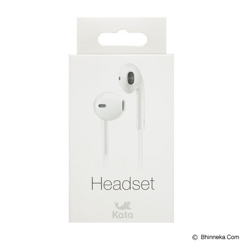 KATA Headset [EPKATWH] - White - Earphone Ear Monitor / Iem