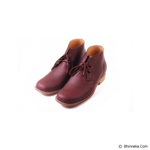 KEEVE SHOES Boot Leather Size 40 [KBP033] - Casual Boots Pria
