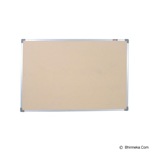 KEIKO Softboard Hanger Polos 60x120 - Papan Tulis White Board