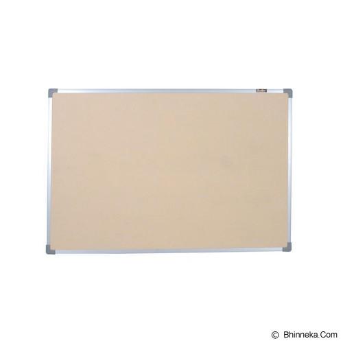 KEIKO Softboard Hanger Polos 90x120 - Papan Tulis White Board