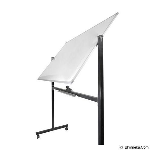 KEIKO WhiteBoard Double Face Stand 80x120 - Papan Tulis White Board