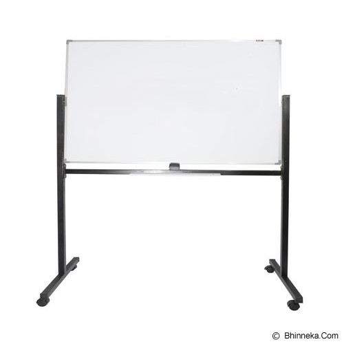 KEIKO WhiteBoard Single Face Stand 120x240 - Papan Tulis White Board