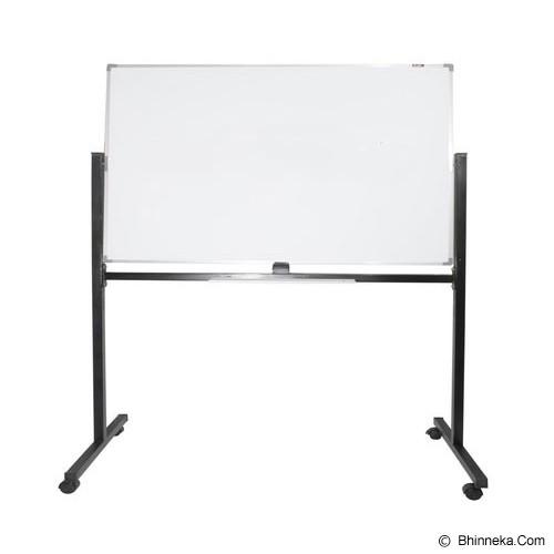 KEIKO WhiteBoard Single Face Stand 80x120 - Papan Tulis White Board