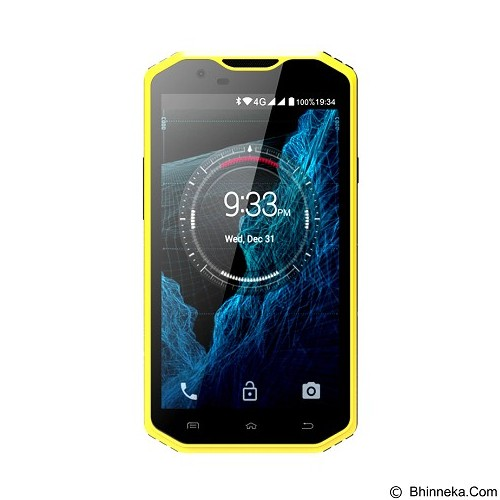 KEN Mobile W8 - Yellow (Merchant) - Smart Phone Android