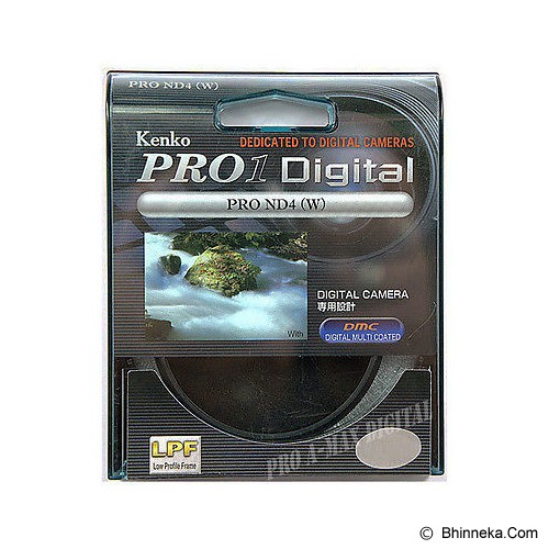 KENKO Pro-1 Digital ND4 58 - Filter Solid Nd