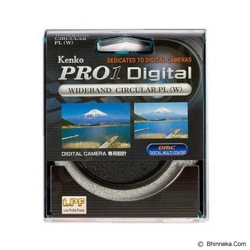 KENKO Pro1 Digital Wideband Circular PL (W) 52mm - Filter Polarizer