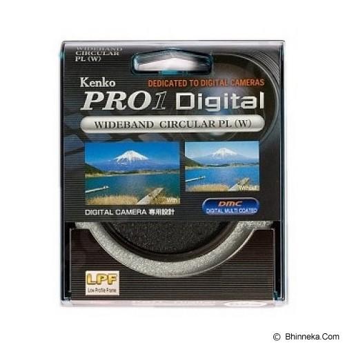 KENKO Pro1 Digital Wideband Circular PL (W) 62mm - Filter Polarizer