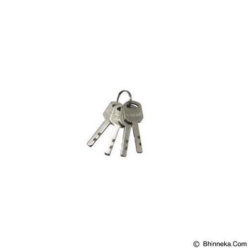 KENMASTER 5Pcs Gembok Master Key 40 mm - Silver (Merchant) - Kunci Gembok