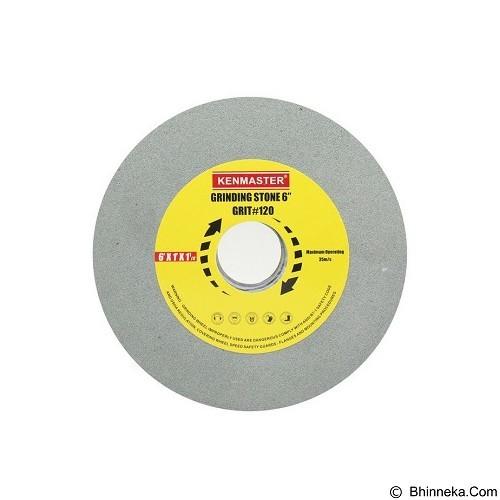 KENMASTER Batu Grinding 6 inch Grit 80 (Merchant) - Mata Gerinda