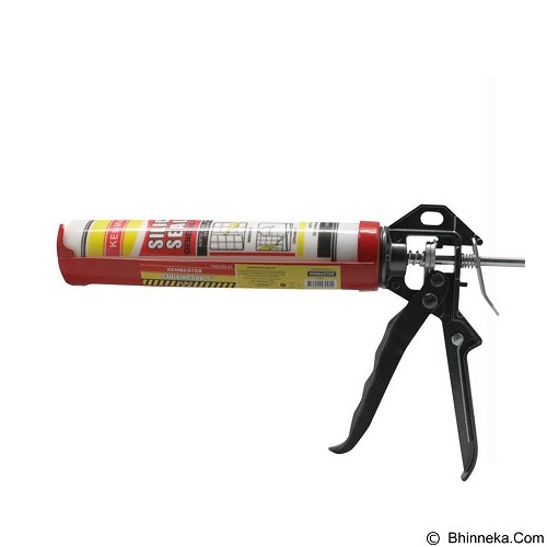 KENMASTER Caulking Gun + Lem Silicon [K965] - Black (Merchant) - Glue Gun