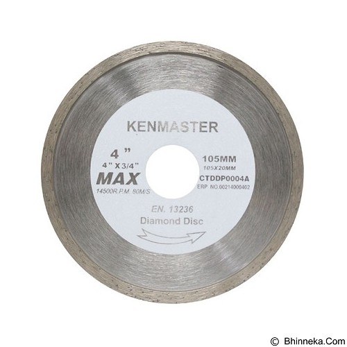 KENMASTER Diamond Wheel Basah (Merchant) - Mata Gerinda
