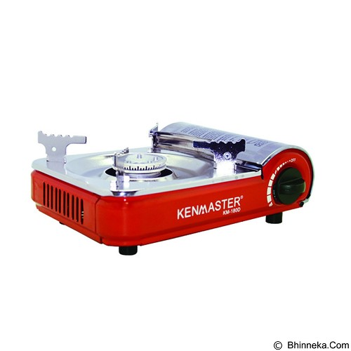 KENMASTER Gas Cooker Mini [KM180D] - Red (Merchant) - Kompor Gas