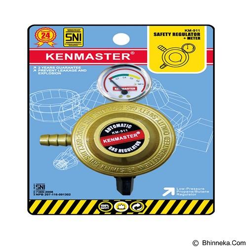 KENMASTER Kepala Gas Otomatis + Meter 911 Dus (Merchant) - Regulator & Selang Kompor Gas