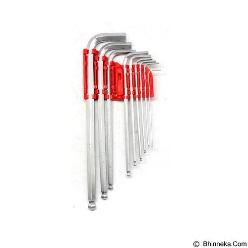KENMASTER Kunci L Lipat 9Pcs Crum (Merchant) - Kunci Inggris / Adjustable Wrench