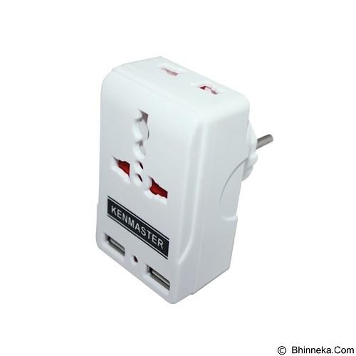 KENMASTER Steker USB [S0203] (Merchant) - Steker Besar / Bulat