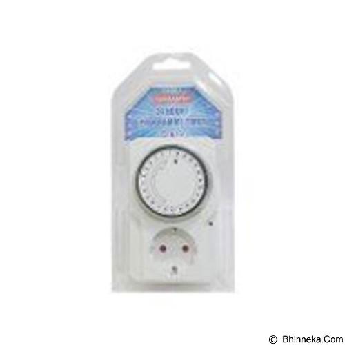 KENMASTER Stop Kontak Timer 24 Jam (Merchant) - Stop Kontak Out Bow
