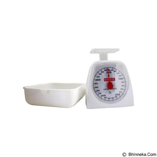 KENMASTER Timbangan Kue 5 Kg - White (Merchant) - Timbangan Dapur