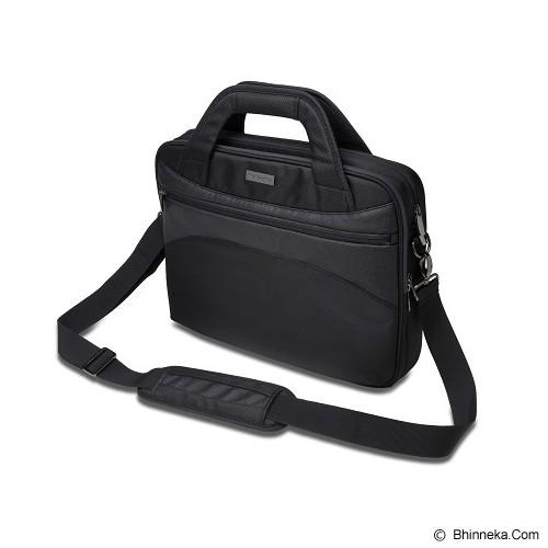 KENSINGTON Triple Trek Ultrabook Optimized Briefcase 14 inch [K62589] - Black - Notebook Shoulder / Sling Bag