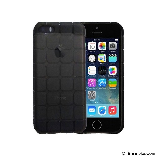 KIN Cube Ultra Thin Soft Case For Apple iPhone 5C - Black - Casing Handphone / Case