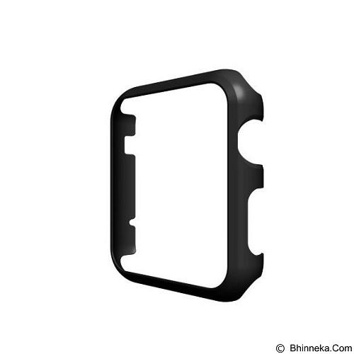 KIN Xo Slim Fit Case For Apple Watch 38 - Black - Casing Smartwatch / Case
