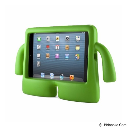 KIN ibuy Speck iguy Kiddie Case For Apple iPad Air 1/2 - Green - Casing Tablet / Case