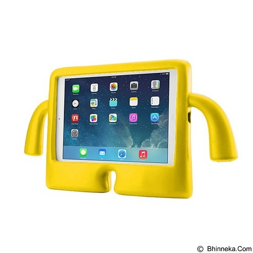 KIN ibuy Speck iguy Kiddie Case For Apple iPad Air 1/2 - Yellow - Casing Tablet / Case