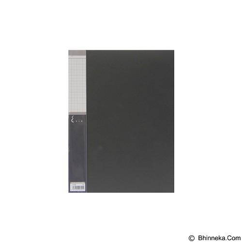 KING JIM Clear File 20 Pockets A4 [5136] - Black - Expandable Folder