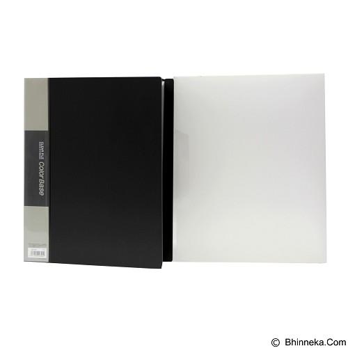 KING JIM Clear File Color Base 132-5C 100 - Black - Map Plastik