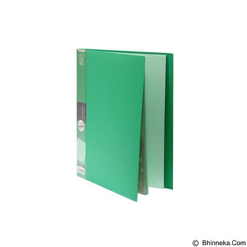 KING JIM Clear File Stick [Type 7132] - Green - Expandable Folder