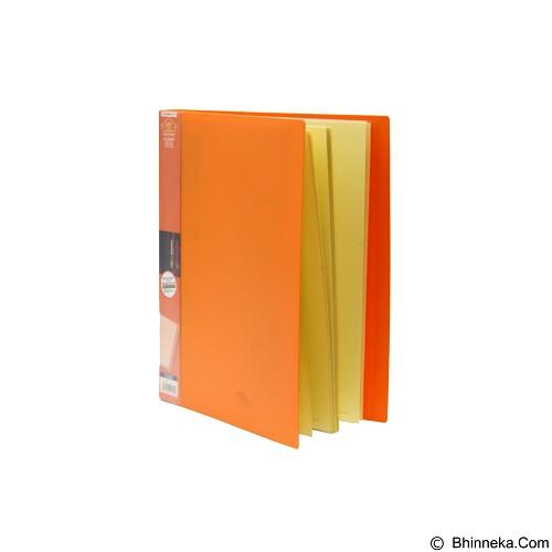 KING JIM Clear File Stick [Type 7132W] - Orange - Ordner / Binder
