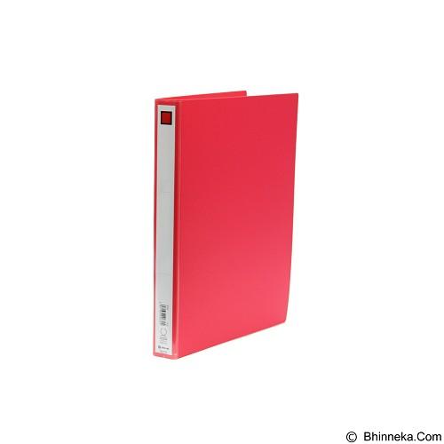 KING JIM D Ring File Economy Type 612 - Red - Map Plastik