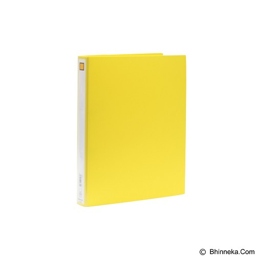 KING JIM D Ring File Economy Type 612 - Yellow - Map Plastik