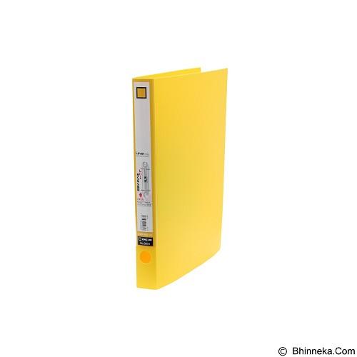 KING JIM Lever Ring File [3672] - Yellow - Ordner / Binder