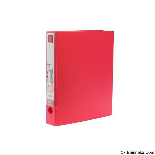 KING JIM Lever Ring File [3673] - Red - Ordner / Binder