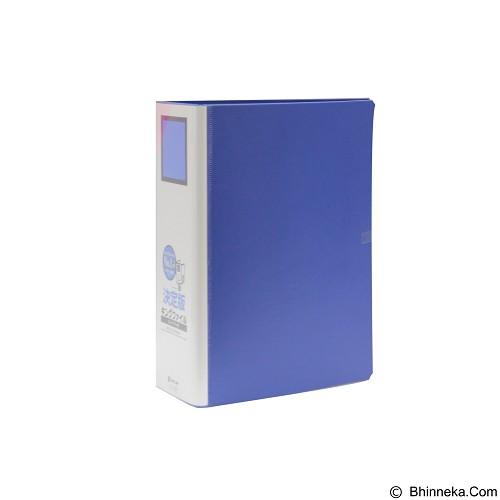 KING JIM Pipe File 1470Ga A4 10Cm - Blue - Map Plastik
