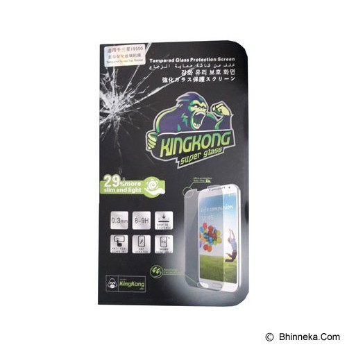 KINGKONG Tempered Glass Screen Protector for Sony Xperia Z3 - Clear - Screen Protector Handphone