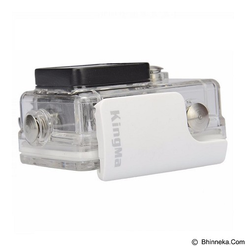 KINGMA Waterproof Case For Xiaomi Yi - White (Merchant) - Camcorder Lens Cap and Housing Protection