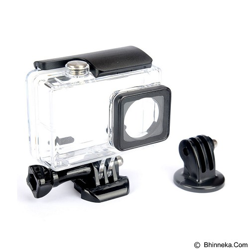 KINGMA Waterproof Case for Xiaomi Yi Action Cam 2 4K (Merchant) - Camcorder Lens Cap and Housing Protection