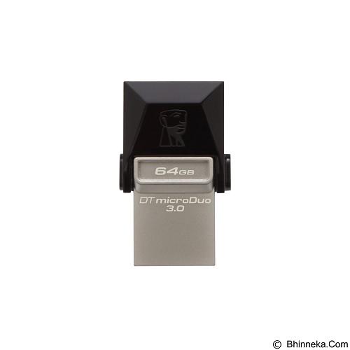 KINGSTON Data Traveler Micro Duo 64GB [DTDUO3/64GB] - Usb Flash Disk Dual Drive / Otg