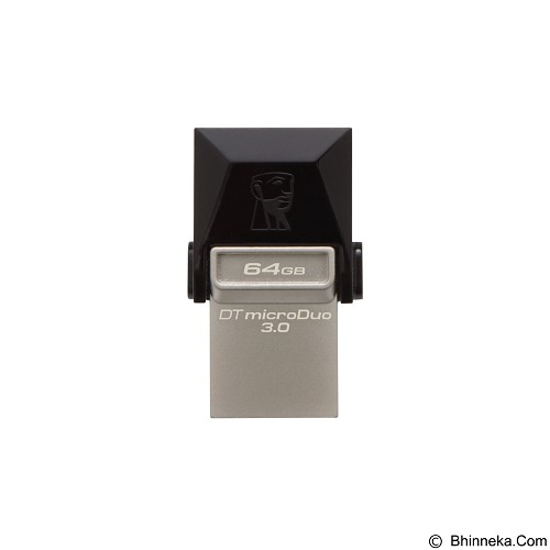 KINGSTON Data Traveler Micro Duo 64GB [DTDUO3/64GB] - Usb Flash Disk Dual Drive / Otg