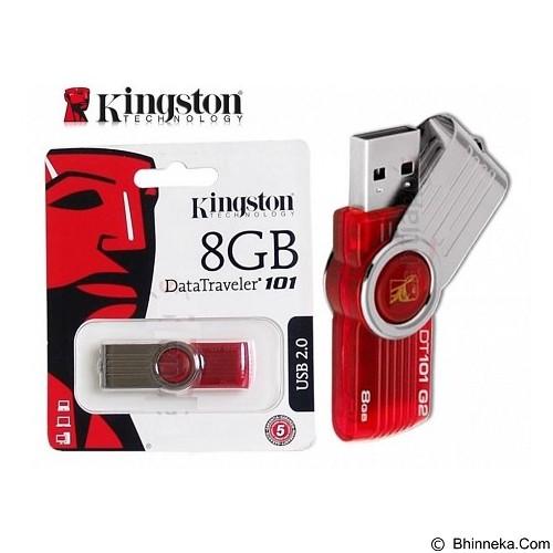 KINGSTON DataTraveler 101 8GB [DT101] (Merchant) - Usb Flash Disk Basic 2.0