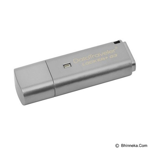 KINGSTON DataTraveler Locker Plus G3 8GB [DTLPG3/8GB] (Merchant) - Usb Flash Disk Basic 3.0