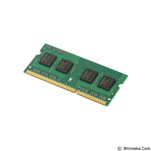 KINGSTON Memory Notebook 4GB DDR3 PC-12800 [Value RAM KVR16LS11/4] - Memory So-Dimm Ddr3