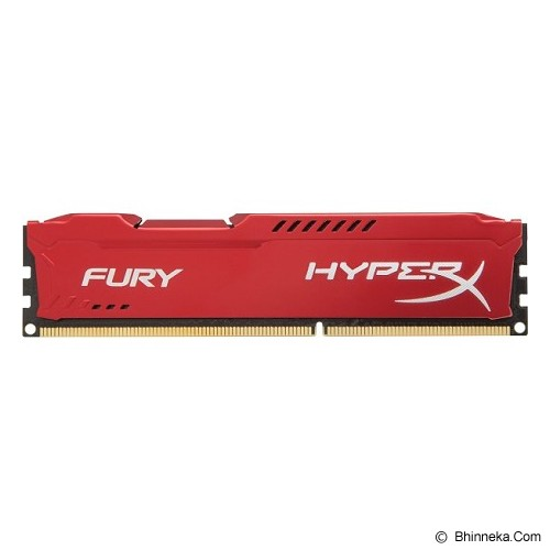 KINGSTON Memory PC 4GB DDR3 PC-12800 [HyperX Fury HX316C10FR/4] - Red - Memory Desktop Ddr3