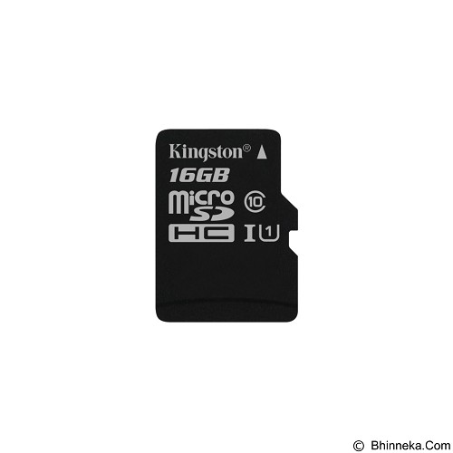 KINGSTON MicroSDHC 16GB Class 10 [SDC10G2/16GBSPFR] (Merchant) - Micro Secure Digital / Micro Sd Card