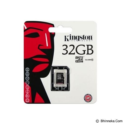 KINGSTON MicroSDHC 32GB Class 10 [SDC10/32GBSP] (Merchant) - Micro Secure Digital / Micro Sd Card