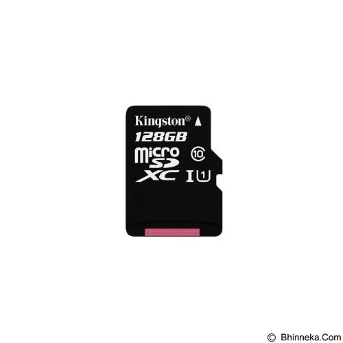 KINGSTON MicroSDXC 128GB Class 10 [SDC10G2/128GBFR] - Micro Secure Digital / Micro SD Card